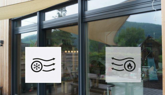 Transmitancia térmica de una ventana