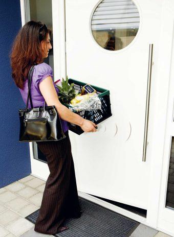 Comodidad y seguridad para puertas principales