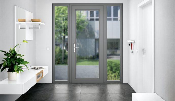 Puertas de aluminio modernas: estética y seguridad con Roto Solid C