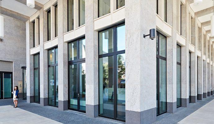 Maintor Porta, el edificio eficiente de Frankfurt