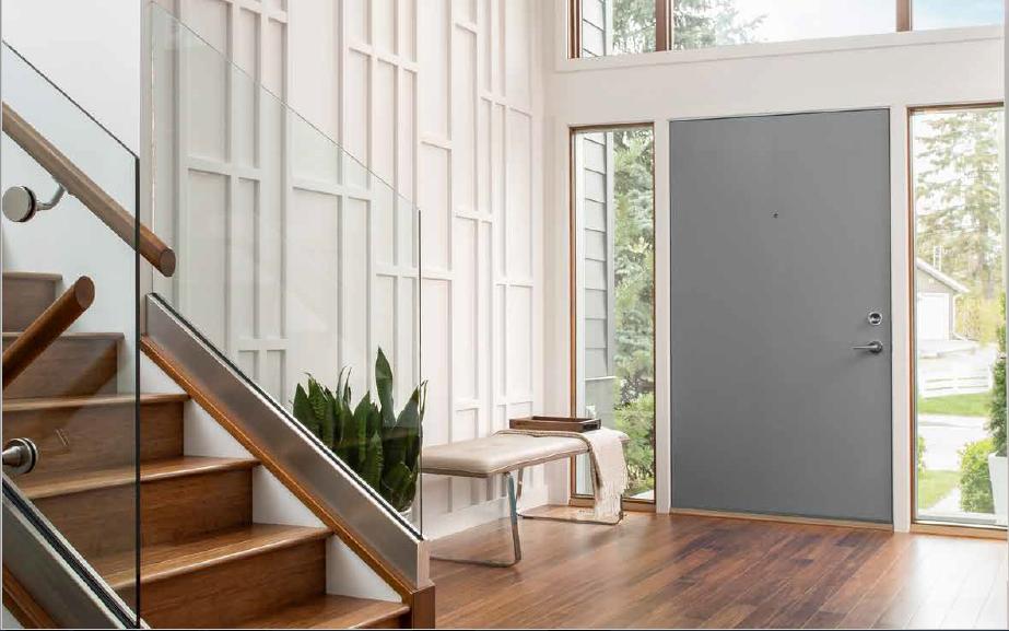 Puertas de aluminio modernas est tica y seguridad con - Puerta balconera aluminio ...